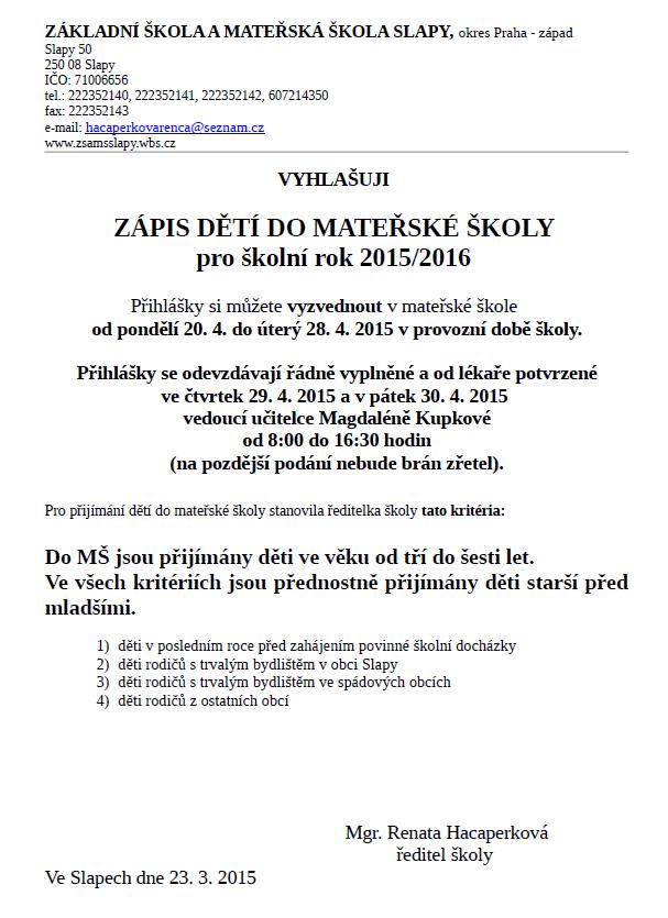 Slapy - Archív ae1762055f